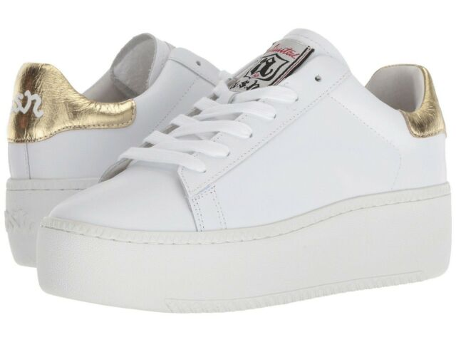 f67ec3d9ab93b Ash Cult White Ariel Leather SNEAKERS Women s Size 11 M US Euro 41 ...