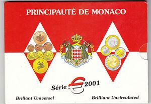 SERIE-ZECCA-MONACO-2001-FDC