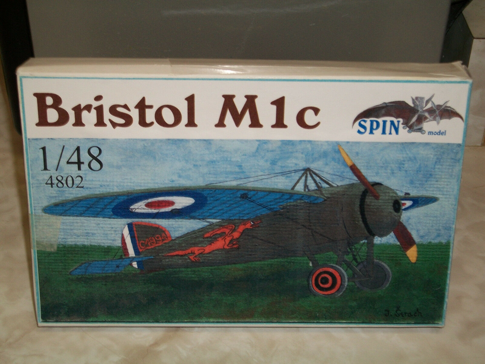 Spin 1 48 Scale Resin Bristol M1c