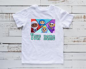 Personalised Go Jetters Team Kids T Shirt Children's Unisex Top Birthday Gift