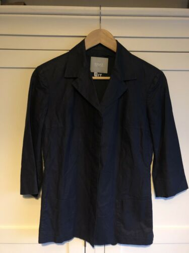 amp; Cotton Couture Linen Concealed 42 Sz shacket Jeans Shirt 28 Button Versace Uqg6IXwc