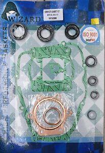Complete Engine Gasket kit Set with Oil Seals for Yamaha Blaster 1988-2006