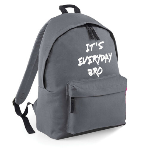 Jake Paul JPaulers ITS EVERYDAY BRO Rucksack Backpack Bag Youtuber Team 10 Logan