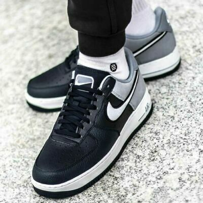 MENS NIKE AIR FORCE 1 '07 LV8 SIZE UK 15 EUR 50.5 (AO2439 400) OBSIDIAN WHITE | eBay