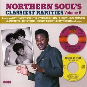 NORTHERN-SOUL-039-S-CLASSIEST-RARITIES-VOLUME-6-Various-NEW-amp-SEALED-CD-KENT-SOUL