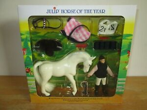 Julip-Horse-of-the-Year-No-1420-Isabella-amp-Icicle-Collectable-Model