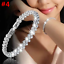 Women-925-Sterling-Solid-Silver-Bangle-Chain-Crystal-Cuff-Bracelet-Charm-Jewelry thumbnail 16