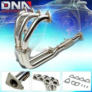 Details about J2 ENGINEERING FOR 92-96 HONDA PRELUDE H22 PERFORMANCE  EXHAUST HEADER MANIFOLD