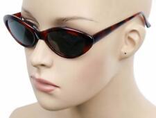 NEW WOMEN'S SEXY FASHION TREND RETRO CAT EYE SMALL SHADES SUNGLASSES RED KS228HP
