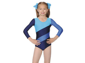 98a7923a2 CHILDRENS GIRLS GYMNASTICS DANCE LEOTARD ALL SIZES