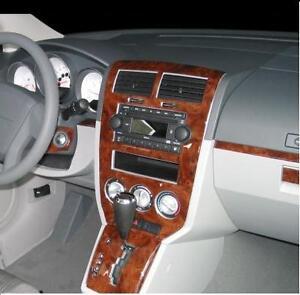 Dodge Caliber Se Sxt R T Interior Burl Wood Dash Trim Kit