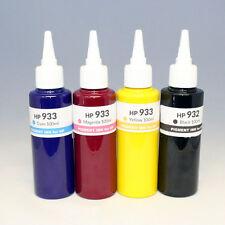 400ml HP 932 933 Pigment Ink Refill CISS & Cartridge- 6100 7100 6600 6700 7610