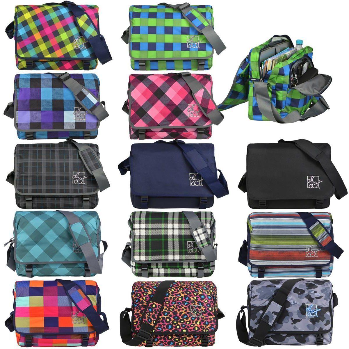 Borsa a tracolla borsa scolastica Borsa Spalla Shoulder Bag Borsa Scuola All Out