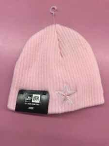 eaae8cb39 Details about Dallas Cowboys New Era Hat Infant My 1st Knit Pink