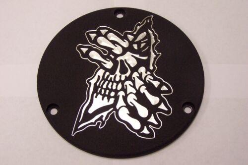 Custom EVO Derby Cover Fits Harley Davidson  Grim Ripper