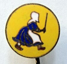 circa 1910 OLD DUTCH CLEANSER enamel inlaid advertising stick pin stickpin +