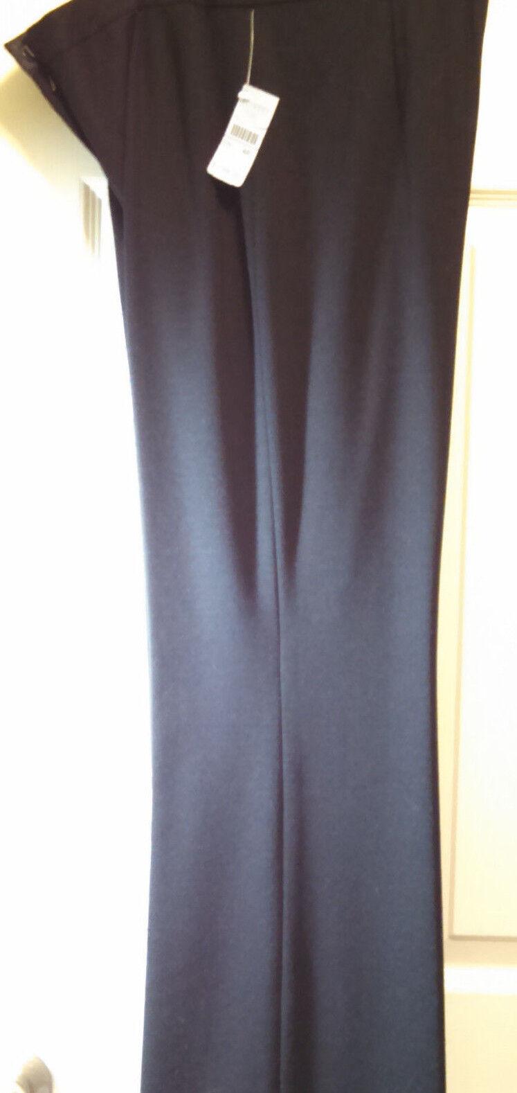 NEW  148 TALBOTS Collection Italian Fabric Pants Sz 4P 4 Petite Flare Classic