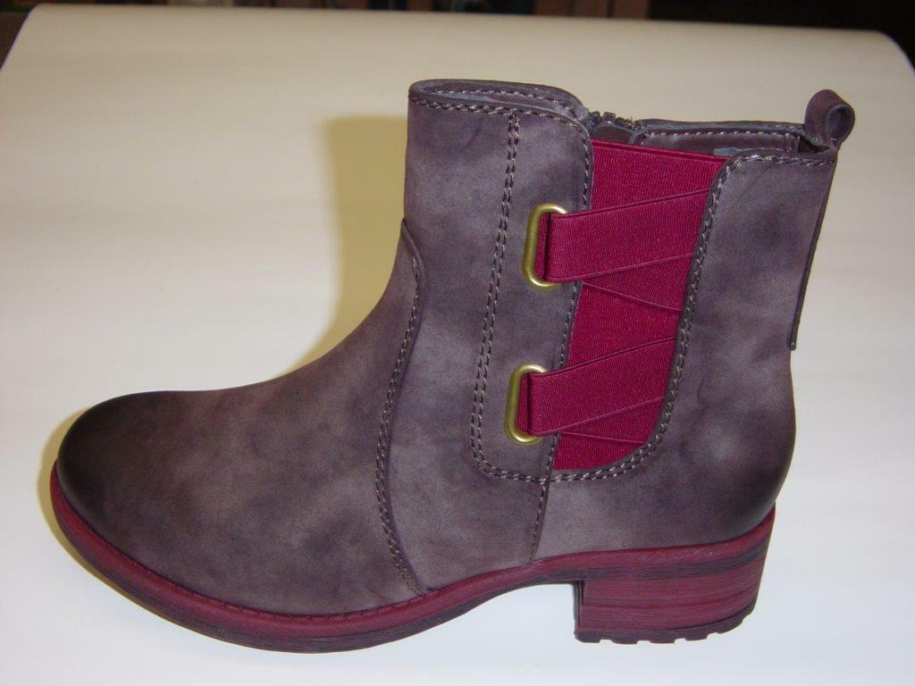 Rieker Stiefeletten   zigarre-kombi (grey brown bordeaux-red)   Warmfutter   40