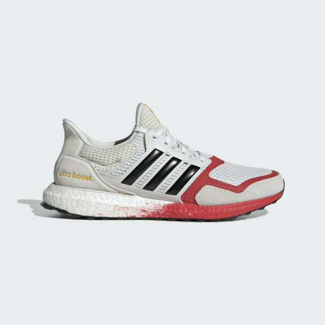 Size 9 - adidas UltraBoost DNA Gray Lush Red 2020