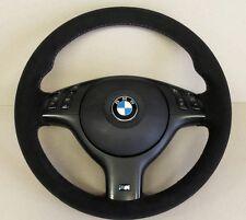 M sport BMW E46/M3-VOLANTE vera Alcantara-Tri Colore Cuciture