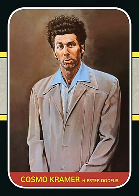 MICHAEL RICHARDS KRAMER FROM SEINFELD ACEO ART CARD #### COMBINED SHIPPING ####