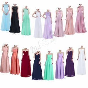 Sexy-Women-039-s-Formal-Long-Dress-Prom-Evening-Party-Cocktail-Bridesmaid-Wedding
