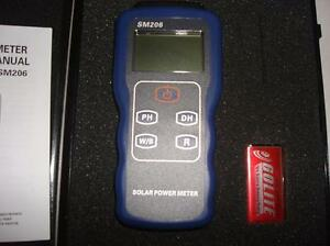 Image Is Loading Precision Solar Power Meter Light Intensity Measurement  Radiation