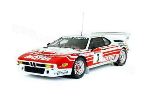 Otto-Models OT126 BMW M1 Gr. B TOUR DE CORSE 1983 Motul 1983 Bernard Béguin