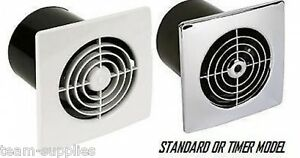 Manrose 4 Quot Low Lo Profile Extractor Fan Wall Ceiling