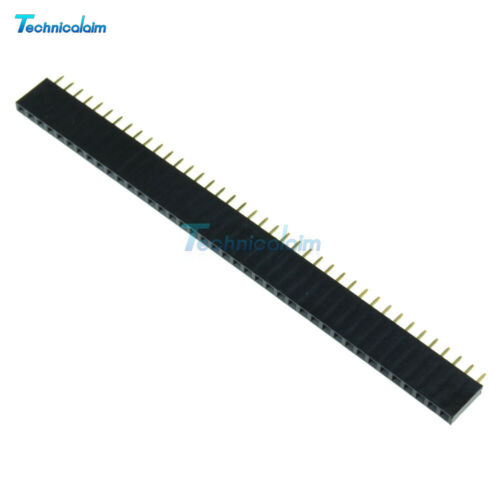 20PCS 40pin 2.54mm Male /& Female Header Socket Row Strip PCB Connector