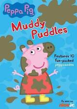 Nick Jr. Peppa Pig: Muddy Puddles DVD (2015) ~Features 10 Fun-Packed Peppasodes~