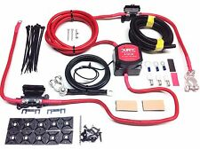 6mtr Pro Split Charge System 12V 140a Durite VSR 110a Ready Made Leads+Fuse Box