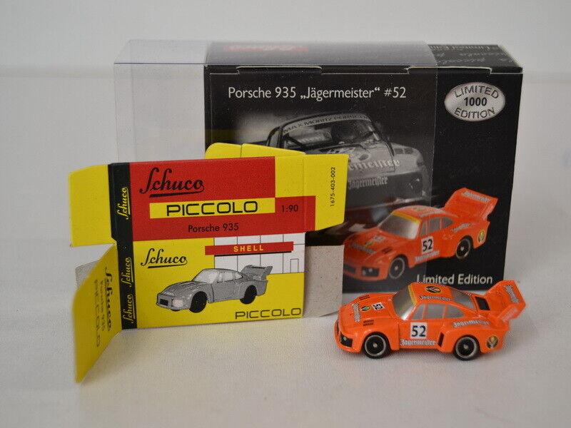 26 ) Schuco 05475 Piccolo Porsche 935  52 Jägermeister  in OVP