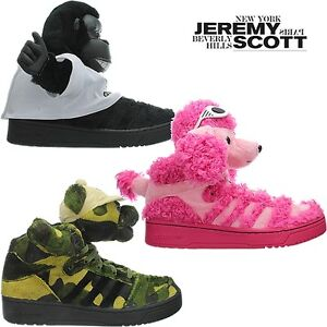 the best attitude 580bc b73a2 Image is loading Adidas-JEREMY-SCOTT-JS-teddy-gorilla-bear-poodle-