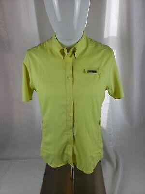 Small NWT Columbia Titanium PFG Short Sleeve Button Down Shirt BS-1006