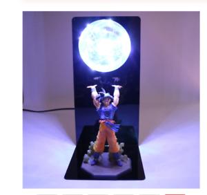Dragon Ball Z Son Goku Action Figures Led Lamp DIY Action Figure Whole Set PVC