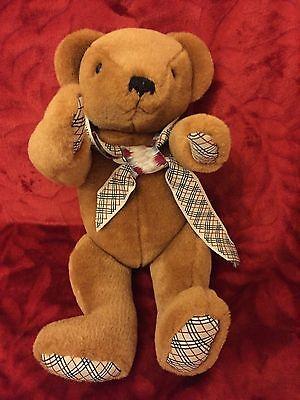 """15"""" Snodato Teddy Bear Vestiti Firmati Promo Bear-mostra Il Titolo Originale"""