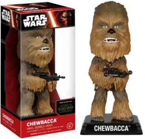 Funko Star Wars Episodes VII Chewbacca Vinyl Bobble-Head Figure NEW