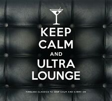KEEP CALM AND ULTRA LOUNGE 2 CD NEU FRANK SINATRA/PEGGY LEE/ELLA FITZGERALD/+