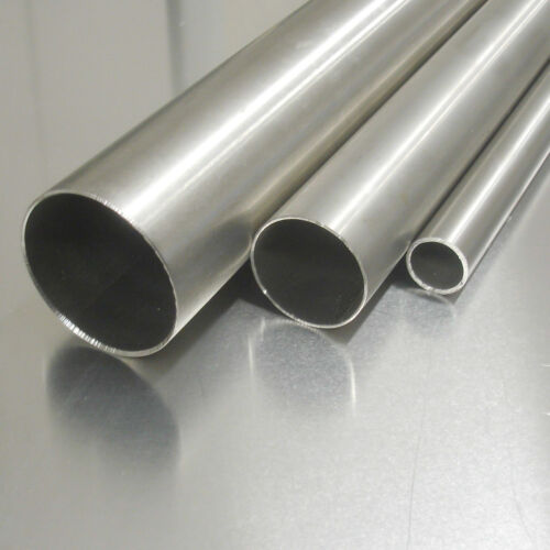 Stainless Steel Pipe Ø 16x2mm 1.4301 Length Selectable sanded k240 VA v2a Profile