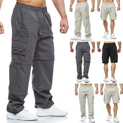 MENS KANGAROO POO CHARCOAL GREY 3//4 THREE QUARTER LONG LENGTH BEACH CARGO SHORTS
