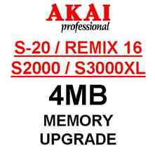 AKAI S20 - 4MB RAM Upgrade. Remix 16 S2000 S3000XL CD3000XL S3200XL MPC2000XL