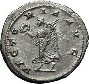 Gordianus Iii Silver Antoninianus Ancient Roman Imperial Coin Rome Mint To Be Distributed All Over The World