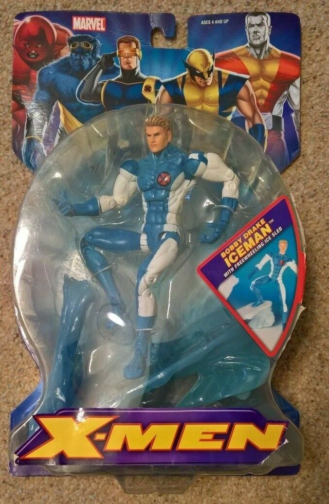 Marvel Legends Classics X-MEN series Iceman Bobby Drake rare 6 inch