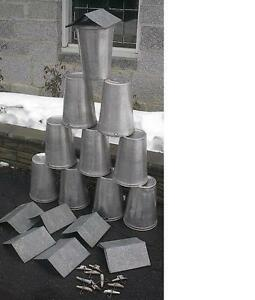 Lids COVERS 10 MAPLE SYRUP Old GALVANIZED Sap Buckets TAPS Spiles Spouts