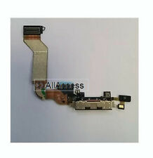 New Black Dock Connector Charging Port Flex Cable For Apple iPhone 4S