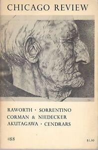 Chicago-Review-88-Spring-1973-Poetry-Fiction-Art-Prose-Sorrentino-Akutagawa