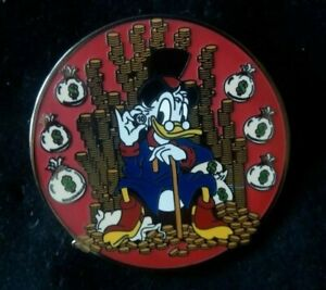 DISNEY UNCLE SCROOGE MCDUCK FANTASY PIN