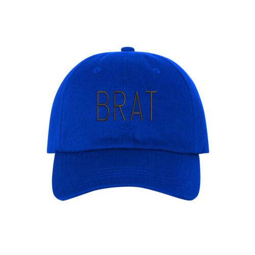 BRAT Black Thread Embroidered Dad Hat Baseball Cap Many Styles