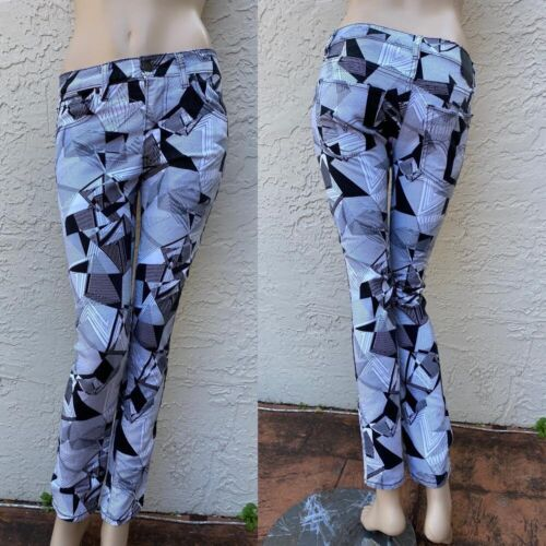 LEVIS 510 SUPER SKINNY RARE ABSTRACT PRINT JEANS S
